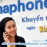 Khuyến mãi 50% Vinaphone 14/3/2015