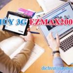 Cách hủy gói 3G Ezmax200 Vinaphone cho sim Ezcom