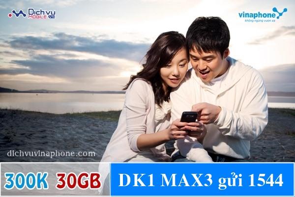 Đăng ký gói MAX300 của Vinaphone
