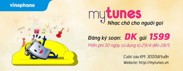 Dịch vụ Mytunes Vinaphone