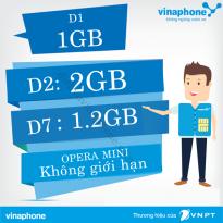 Các gói cước 3G đăng ký dùng 1 ngày của Vinaphone 2016