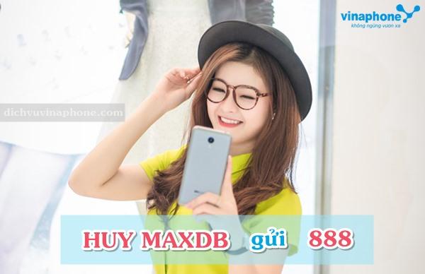 Hướng dẫn hủy gói cước MAXDB Vinaphone