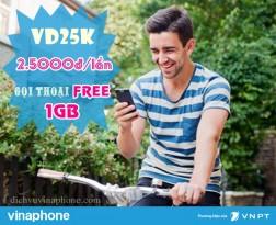 Hướng dẫn đăng ký gói VD25K mạng Vinaphone