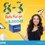 Cách đăng ký gói N83 Vinaphone xài 3GB data 1 ngày giá chỉ 8.000đ