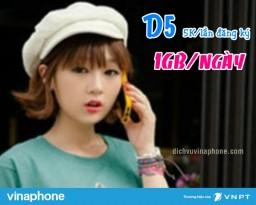 Cách đăng ký gói D5 Vinaphone