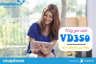 Hướng dẫn hủy gói VD350 mạng Vinaphone