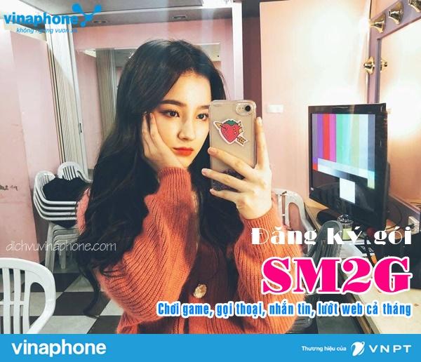 Đăng ký gói SM2G mạng Vinaphone