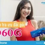 Hướng dẫn kiểm tra ưu đãi gói D60G Vinaphone đơn giản nhất