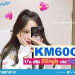 Hướng dẫn đăng ký gói KM60G Vinaphone ưu đãi 2GB/ngày chỉ 50K