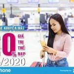 Khuyến mãi hot: Tặng 20% thẻ nạp ngày vàng 8/5/2020 trên toàn quốc