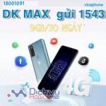 Đăng ký gói MAX70 của Vinaphone tận hưởng 9GB tốc độ cao với giá cước 70.000đ/tháng